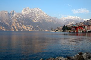 Photo taken at Viale Nino Pernici, 14, 38066 Riva del Garda TN, Italy with NIKON D300
