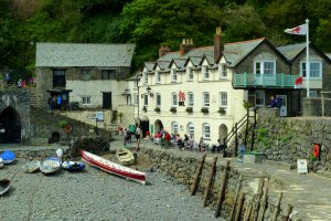 59 The Quay, Clovelly, Bideford, Devon EX39 5TF, UK