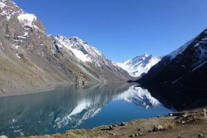 Laguna del Inca - Portillo, Camino Internacional a Mendoza, Refugio Regimiento Yungay, Los Andes, Provincia de Los Andes, Valparaiso Region, Chile
