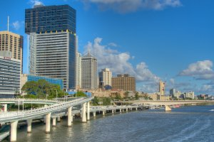 Kurilpa Bridge, Brisbane QLD 4000, Australia