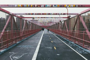 Photo taken at Williamsburg Bridge, New York, NY 10002, USA with FUJIFILM X100S