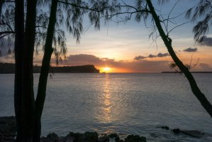 Photo taken at Arote AF, Santa Rita, Guam with Canon PowerShot S110