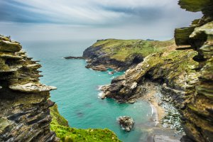 Photo taken at South West Coast Path, Tintagel, Cornwall PL34 0DQ, UK with SONY ILCE-7