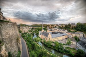 Photo taken at Chemin de la Corniche, 1917 Luxembourg, Luxembourg with NIKON D800