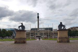 Neues Schloss, Wolfgang-Windgassen-Weg, Oberer Schlossgarten, Stuttgart-Mitte, Stuttgart, Regierungsbezirk Stuttgart, Baden-Württemberg, 70173, Germany