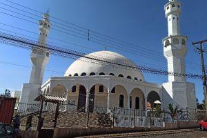 Mesquita Omar Ibn Al-Khattab, 599, Rua Nelson Rodrigues, Jardim das Nações, Foz do Iguaçu, Região Geográfica Imediata de Foz do Iguaçu, Região Geográfica Intermediária de Cascavel, Paraná, South Region, 85.863-720, Brazil