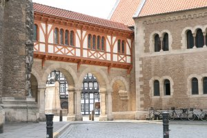 Photo taken at Domplatz 1, 38100 Braunschweig, Germany with Canon EOS 400D DIGITAL