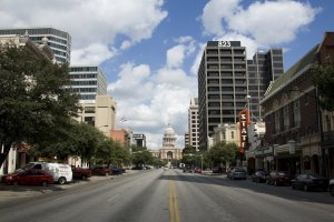 Photo taken at 506 Congress Avenue, Austin, TX 78701, USA with NIKON D40