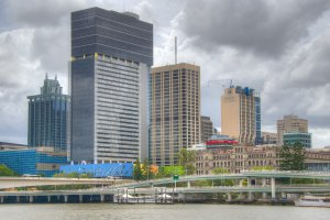 Photo taken at Clem Jones Promenade, South Brisbane QLD 4101, Australia with NIKON D800E