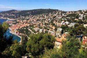 Photo taken at 9-15 Chemin du Col-de Caire, 06230 Villefranche-sur-Mer, France with Apple iPhone 5s