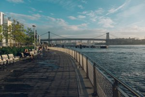 Photo taken at 2 Northside Piers, Brooklyn, NY 11249, USA with FUJIFILM X100T