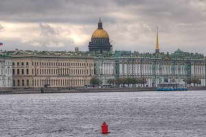 Troitskiy most, Sankt-Peterburg, Russia
