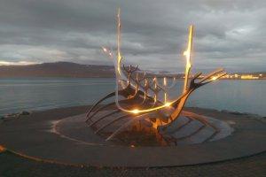 Sculpture & Shore Walk, Reykjavík, Iceland