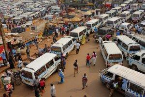 Market Street, Kampala, Uganda