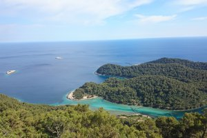 Photo taken at Nacionalni park Mljet, D120, 20226, Polače, Croatia with Sony D5503