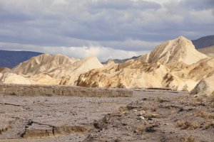 Photo taken at Death Valley National Park, Zabriskie Point Road, Furnace Creek, CA, USA with SONY SLT-A77V
