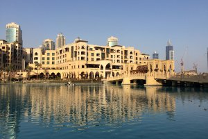 Souk Al Bahar Bridge - Dubai - United Arab Emirates