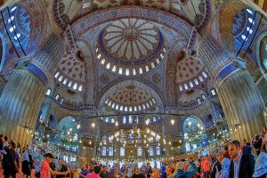 Photo taken at Sultanahmet Mh., Sultan Ahmet Cami, 34122 Fatih/İstanbul, Turkey with Canon EOS 7D