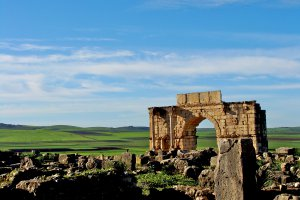 Photo taken at Route de Volubilis, Morocco with SONY DSC-H3