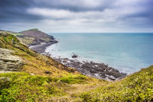South West Coast Path, Bude, Cornwall EX23, UK