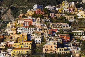 Photo taken at Via Guglielmo Marconi, 147, 84017 Positano SA, Italy with NIKON D300