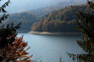 Lake Vidraru, Transfăgărășan, Argeș, Romania