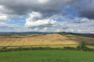 Photo taken at SS438, 16, 53041 Asciano SI, Italy with Apple iPhone 6
