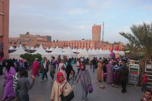 Photo taken at Rue Al-Mouahidine, Ouarzazate 45000, Morocco with Sony E6683