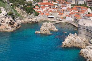 view, Od Kaštela, Stari Grad, Dubrovnik, Grad Dubrovnik, Dubrovnik-Neretva County, 20108, Croatia