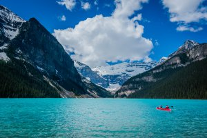 Banff National Park, Lake Louise Lakeshore Trail, Improvement District No. 9, AB T0L, Canada