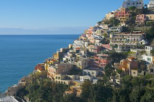 Photo taken at Via Guglielmo Marconi, 190, 84017 Positano SA, Italy with NIKON D300