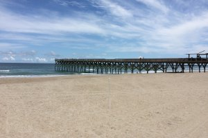 Photo taken at 627 South Lumina Avenue, Wrightsville Beach, NC 28480, USA with Apple iPhone 5s