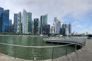 Photo taken at Bayfront, Downtown Core, Singapore, Central, Singapore with Apple iPhone 8