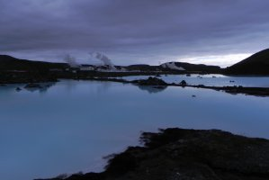 Path into the Blue Lagoon, Iceland