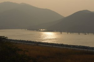 Photo taken at Sunny Bay Station, Lantau Island, Hong Kong with NIKON D200