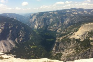 Yosemite National Park, Half Dome Trail, California, USA