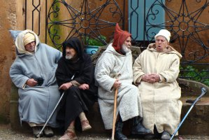 Derb Sidi Bellehcen, Chefchaouen, Morocco