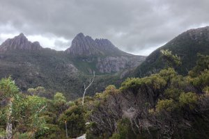 Photo taken at Cradle Mountain-Lake St Clair National Park, Unnamed Road, Cradle Mountain TAS 7306, Australia with Apple iPhone 5