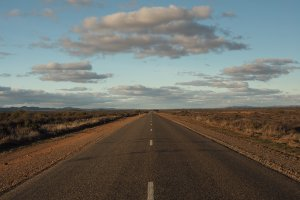 Photo taken at Barrier Hwy, Yunta SA 5440, Australia with OLYMPUS E-M10