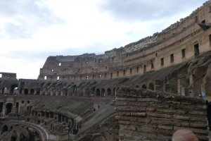 Photo taken at Piazza del Colosseo, 58, 00184 Roma, Italy with Panasonic DMC-ZS20