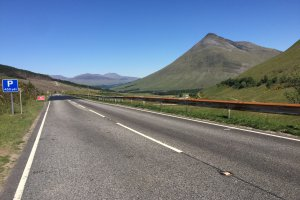 Photo taken at A82, Bridge of Orchy, Argyll and Bute PA36 4AF, UK with Apple iPhone 6