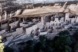 Photo taken at Cliff Palace Overlook, Mesa Verde National Park, CO 81330, USA with Canon EOS REBEL T4i