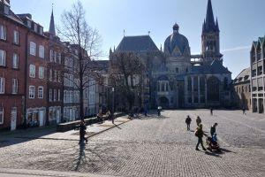 Gewürzgarten Kaiser Karls, Katschhof, Pontviertel, Burtscheid, Aachen-Mitte, Aachen, Städteregion Aachen, North Rhine-Westphalia, 52062, Germany