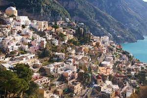 Photo taken at Via Guglielmo Marconi, 212, 84017 Positano SA, Italy with NIKON D300