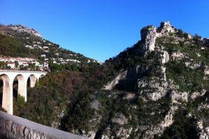 Moyenne Corniche, Èze-Bord-de-Mer, Èze, Nice, Maritime Alps, Provence-Alpes-Côte d'Azur, Metropolitan France, 06360, France