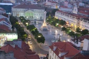 Rua de Santa Justa, Lisboa, Portugal