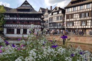 Grande Île, Pont Kuss, La Petite France, Krutenau, Strasbourg, Bas-Rhin, Grand Est, Metropolitan France, 67001, France
