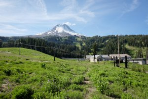 Photo taken at Mount Hood Meadows Drive, Mount Hood, OR 97041, USA with FUJIFILM X-T1