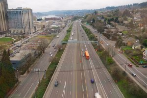 Photo taken at Interstate 5, Portland, OR, USA with Panasonic DMC-GF2
