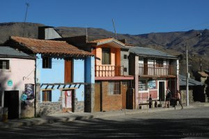 Carr a Coporaque, Coporaque, Peru